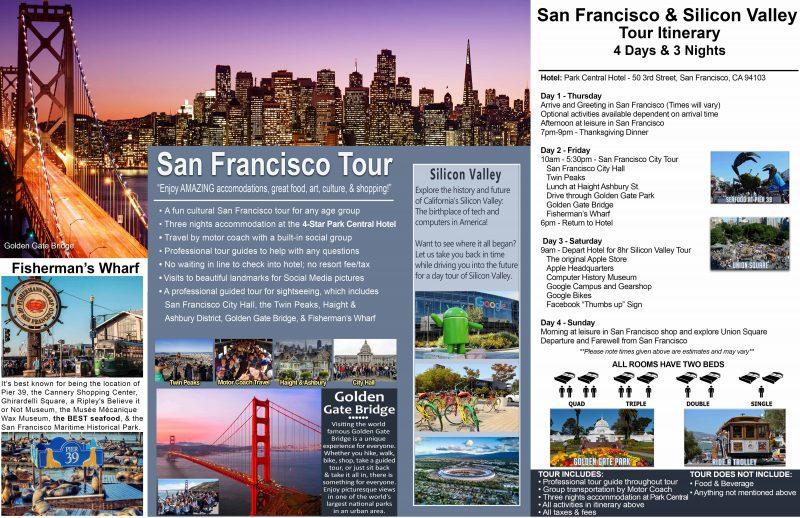 San Francisco Amp Silicon Valley Thanksgiving Tour Ea Tour